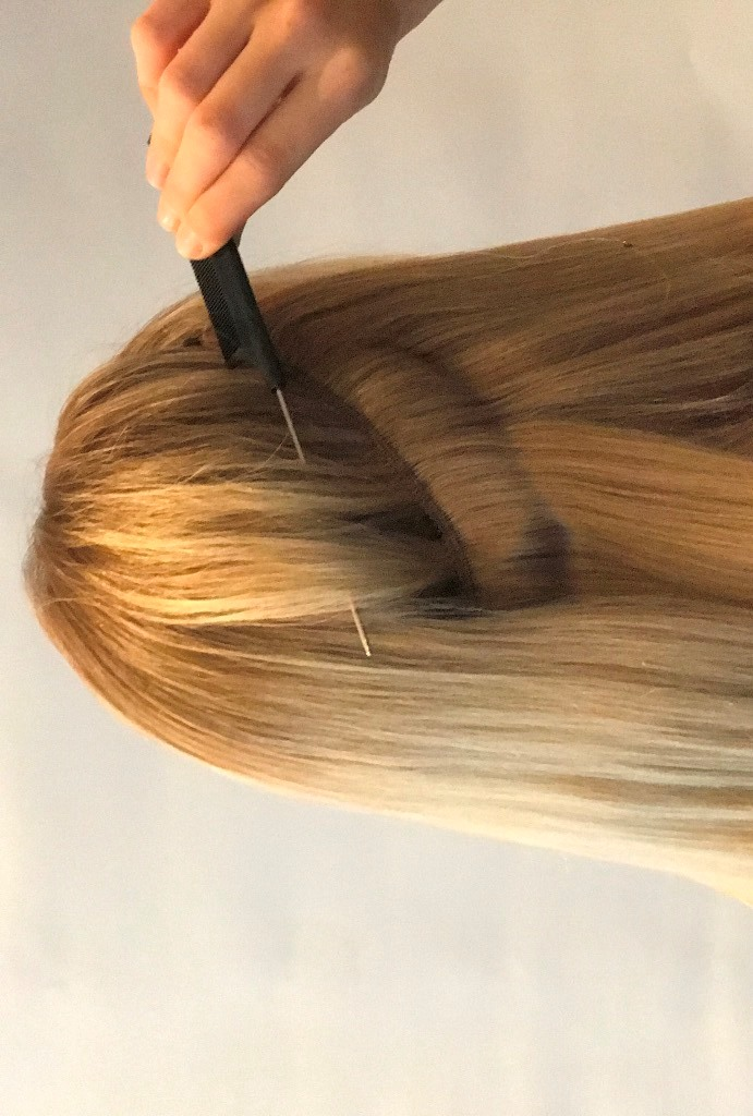 How to use Secret flip it in damage free hair extensions